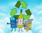 Envases para reciclar