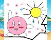 Kirby en un día soleado