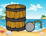 Pólvora y bomba pirata