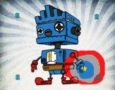 Robot con cresta