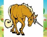 Unicornio bravo