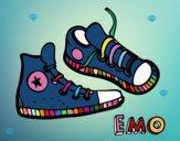 Dibujo Zapatillas pintado por felicity01