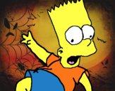 Dibujo Bart 2 pintado por benjiman