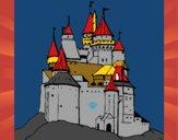 Dibujo Castillo medieval pintado por Angelito13