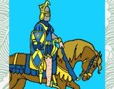 Caballero a caballo