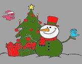Dibujo Navidad II pintado por amalia