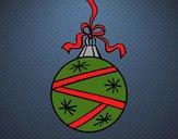 Dibujo Una bola de Navidad pintado por amalia