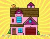 Casa unifamiliar americana