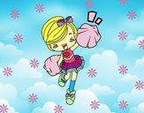 Dibujo Cheerleader pintado por fakita
