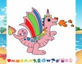 Dibujo Dragón alegre II pintado por Liro29