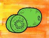 Dibujo El kiwi pintado por amalia