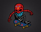 Esqueleto Skater