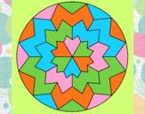Dibujo Mandala 29 pintado por graciela57