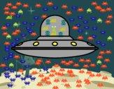 Nave espacial invasora