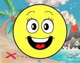 Dibujo Smiley feliz  pintado por BerthitaDZ