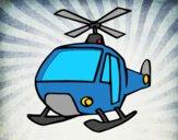 Dibujo Un Helicóptero pintado por fanyluj