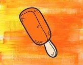 Dibujo Un polo pintado por amalia