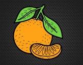 Dibujo Una mandarina pintado por amalia