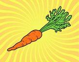 Dibujo Zanahoria ecológica pintado por amalia