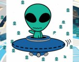 Dibujo Alienígena pintado por KAIRELYN