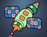 Dibujo Estación espacial pintado por DANILOFUS