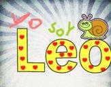 Dibujo Leo pintado por Lucia626