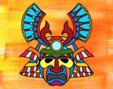 Dibujo Máscara china pintado por Angelito13