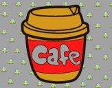 Dibujo Vaso de café pintado por kattie