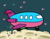 Dibujo Avión de madera pintado por ninovalen