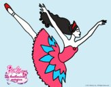 Barbie en cuarto arabesque