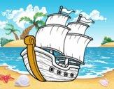 Dibujo Barco de vela pintado por carlosrobe