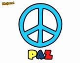 Dibujo Círculo de la paz pintado por IRENEVJF