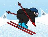 Esquiador experimentado