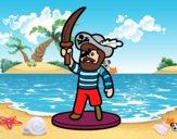 Pirata de juguete