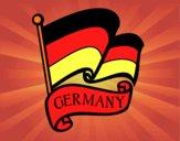 Dibujo Bandera de Alemania pintado por DRAWS