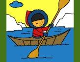 Canoa esquimal