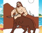 Centauro con arco