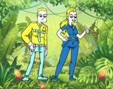 Dos policías