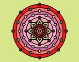 Dibujo Mandala sistema solar pintado por Rosi_U