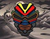 Dibujo Máscara de rayos gamma pintado por nenita5