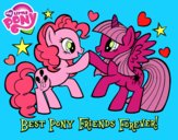 Dibujo Mejores Pony Amigas para siempre pintado por dieguinski