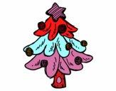 Un árbol Navidad