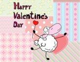 Dibujo Un feliz San Valentín pintado por dominium