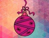 Dibujo Una bola de Navidad pintado por dominium