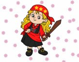 La chica pirata