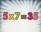 5 x 7