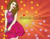 Dibujo Ariana Grande pintado por emirena