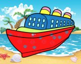 Barco transatlántico