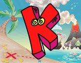 Letra K