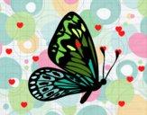 Dibujo Mariposa alas normales pintado por Biankyss